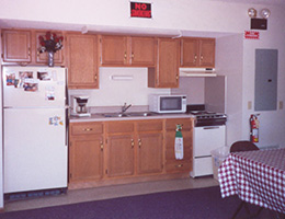 Loess Hills Estates kitchen area