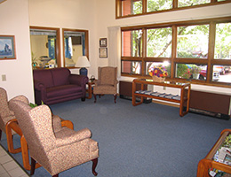 Manona Meadows lobby area