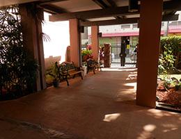 Pauahi Kupuna Hale exterior covered walkway
