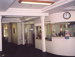 Plymouth Place lobby