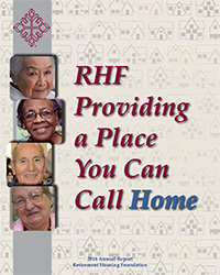 RHF 2016 Annual Report Cover