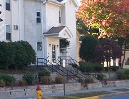 Riverside Village front steps