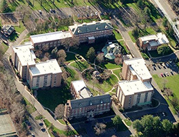 Shepherd Park aerial view