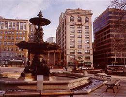 Stearns outdoor fountain