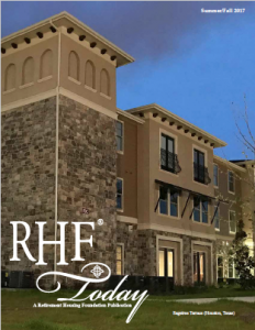 RHF today 2017 summer newsletter