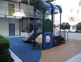 Normandie Terrace outdoor playground