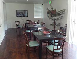 The Gordon dining room