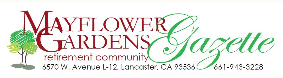 Newsletter Mayflower Gardens
