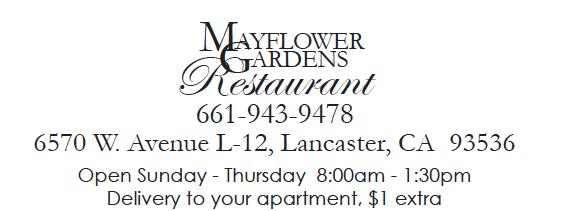 Our Caf Mayflower Gardens