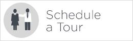 schedule a tour button white