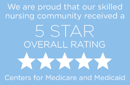 RHF Medicare 5 star button
