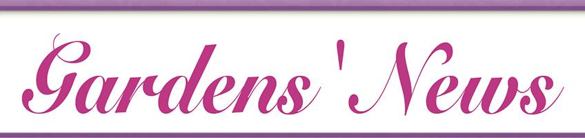 Garden's News banner