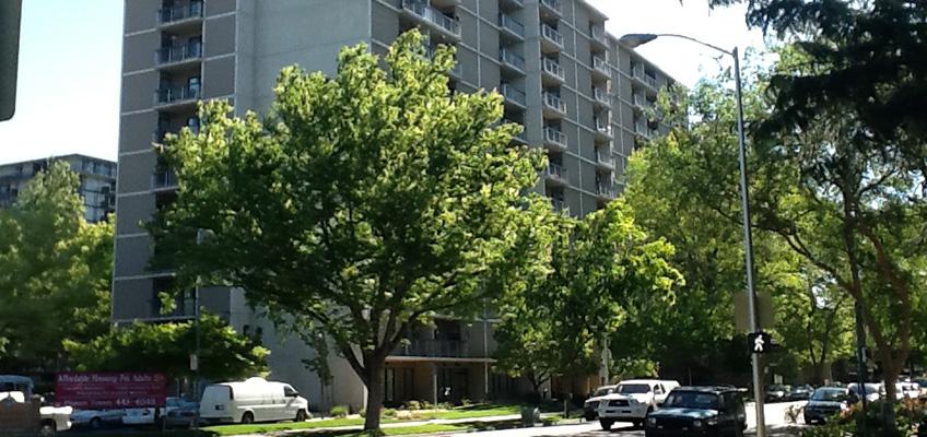 Pioneer Towers street view