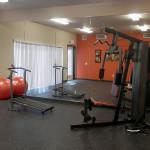 College Villas Gym room