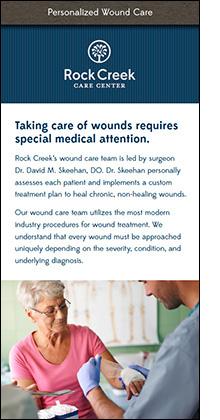 rock creek wound care information