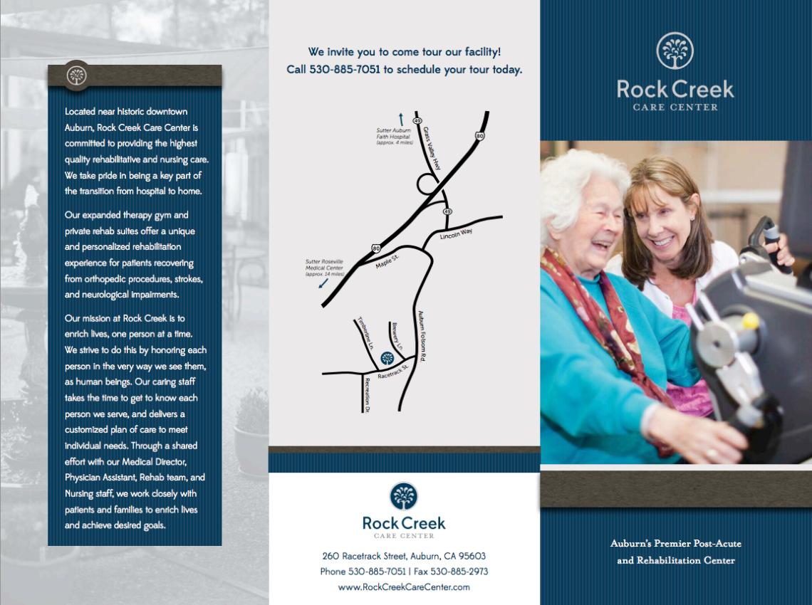 rock creek brochure front