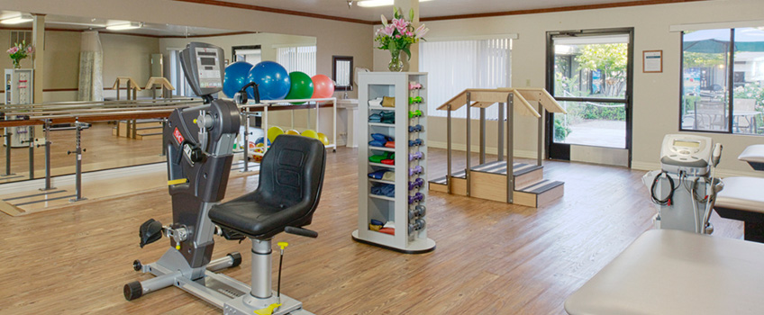 Rehabilitation exercise room